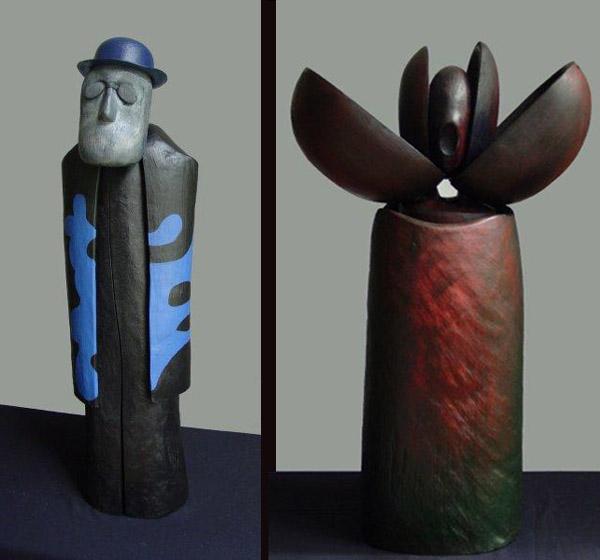Dusan Petran / Sculpture bois