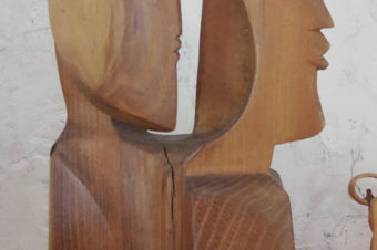 Ugo RATTI / Sculpture bois…