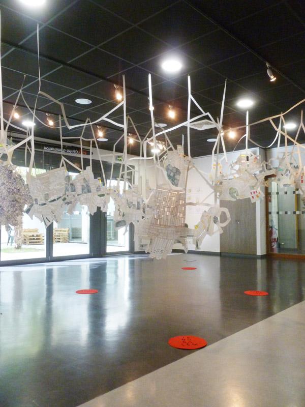 Ghislaine Chortey/Installation