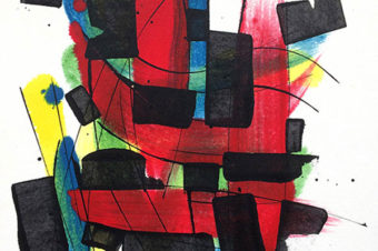 Pascale Kutner/Peinture, collage
