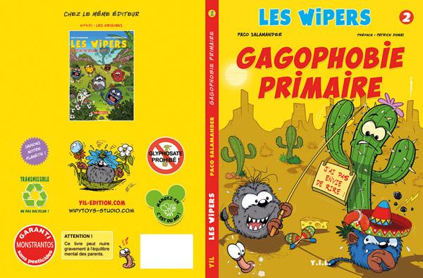 Paco Salamander/Graphisme, bande dessinée