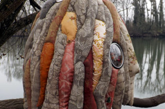 Isao / Sculpture textile