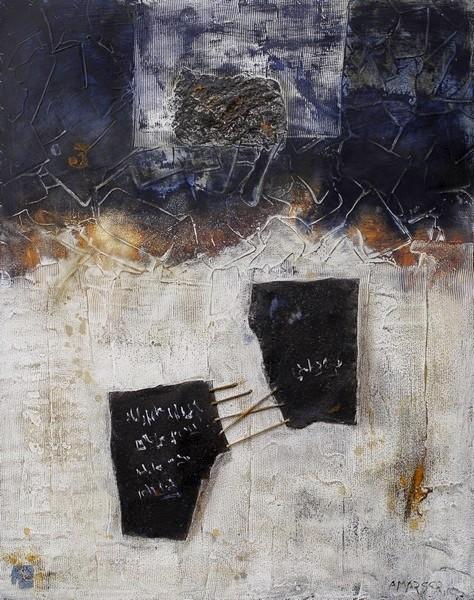 Serge Amarger / Peinture, Techniques Mixtes