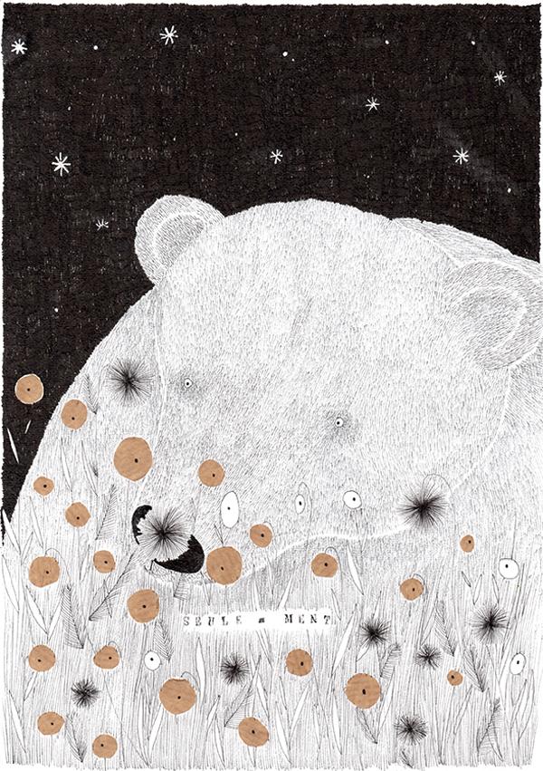 Louise de Contes /dessin , illustration